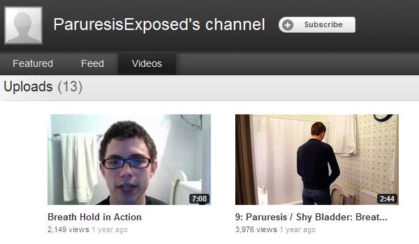 Paruresis Exposed