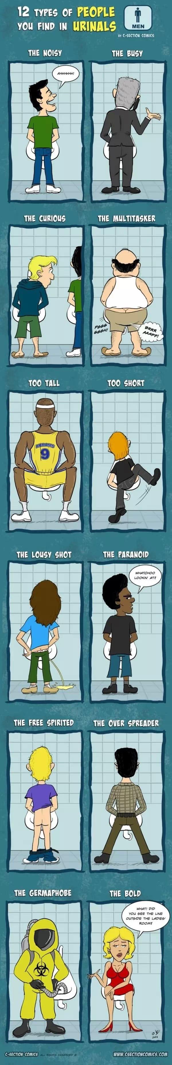 Urinal Humor!